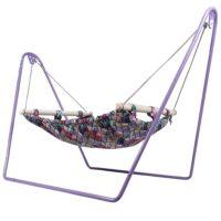 گهواره سنتی نوزاد پرنیان مدل چهارخونه